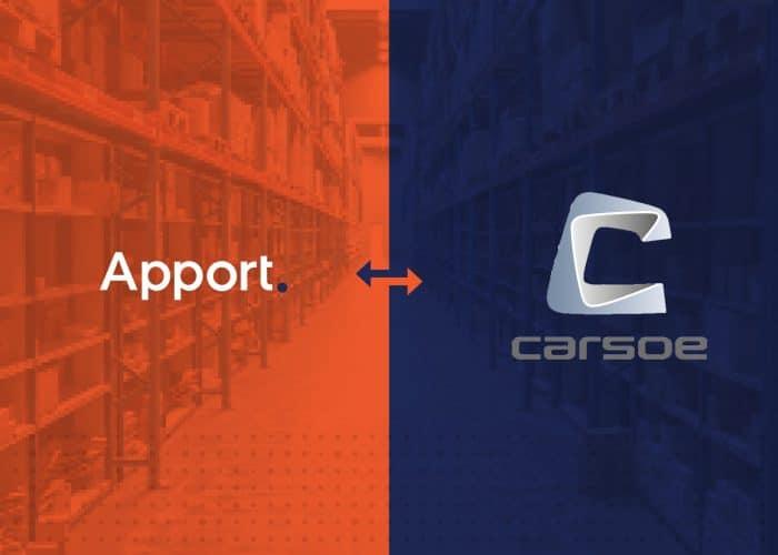 Carsoe vælger Apport Cloud WMS