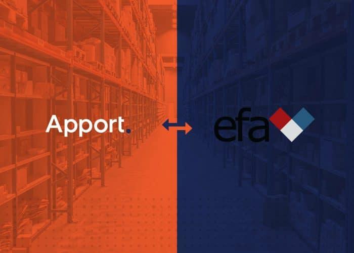 Efa elektro vælger Apport